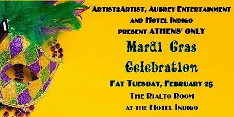 Mardi Gras Celebration on Fat Tuesday  at The Rialto Room  in Hotel Indigo tickets