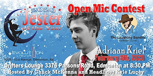 """""""No Snowflakes Allowed"""" Comedy Show Starring Kyle Lucey with Adriaan Kriel"""