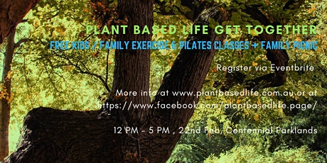 Plant Based Life Get Together tickets