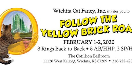 2020 Wichita Cat Fancy Cat Show: Follow the Yellow Brick Road tickets
