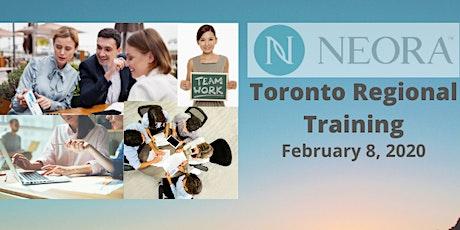 NEORA Toronto February Regional Training tickets
