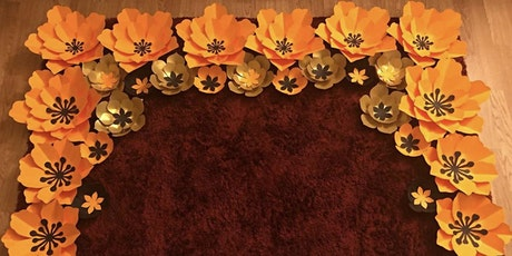 Making Paper Flowers & Backdrops for Events Workshop tickets