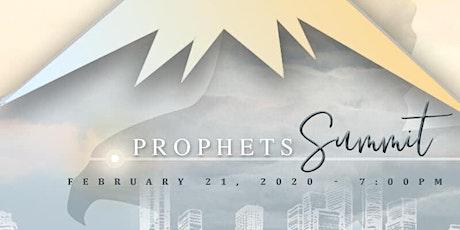 Prophets Summit tickets