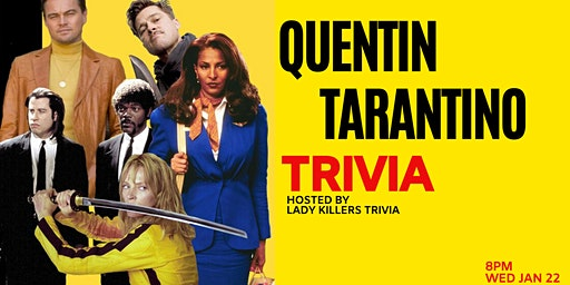Quentin Tarantino Trivia Night