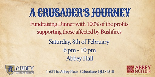 A CRUSADERS JOURNEY - BUSHFIRE FUNDRAISER