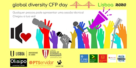 Global Diversity CFP Day Lisboa 2020 bilhetes