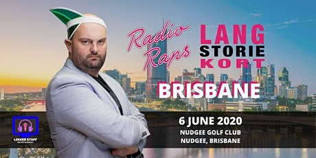 POSTPONED Radioraps | Lang Storie Kort | Brisbane tickets