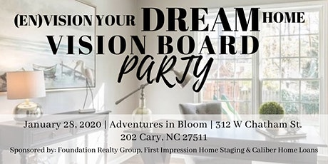 Vision Board Your Dream Home Party tickets