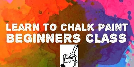 Learn to chalk paint! Beginners class.