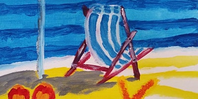 Paint Night in Annandale: Summer Past