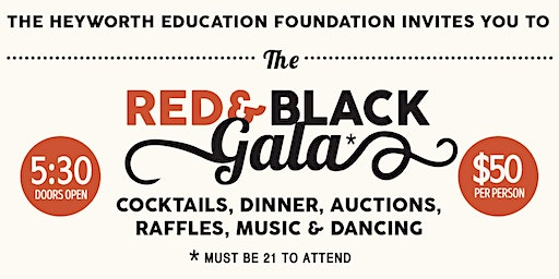 Heyworth Education Foundation's Red & Black Gala