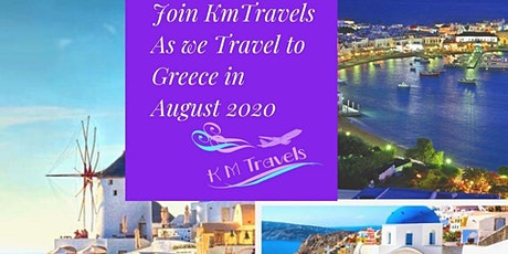 2020  KmTravels Travel/Escape To Greece Tour  entradas