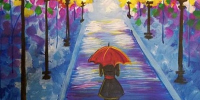 Paint Night in Annandale: Rainy Day