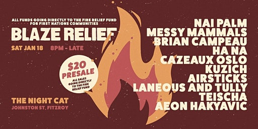 Blaze Relief - Bushfire Fundraiser