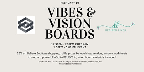 Vibes & Vision Boards Workshop tickets