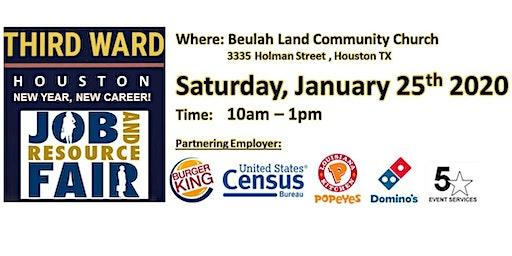 3rd Ward Houston - New Year, New Career Job and Resource Fair