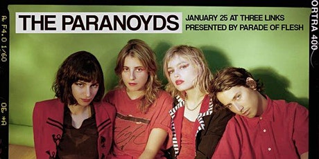 THE PARANOYDS • Strange Lot