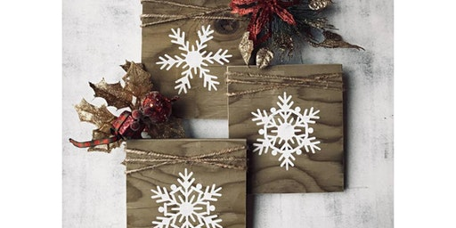 Three Snowflake Boards