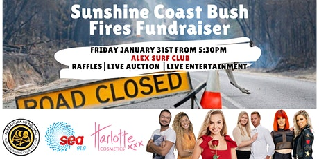 Sunshine Coast Bush Fires Fundraiser tickets