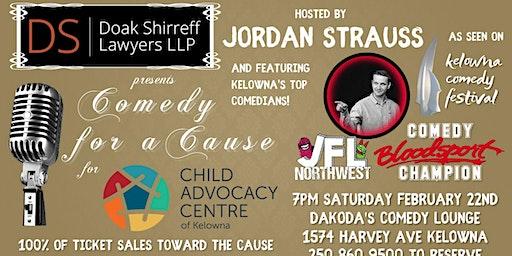 Doak Shirreff presents Comedy for a Cause for the Child Advocacy Centre