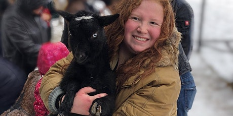 Women Who Explore: Goat Cuddling Event! tickets