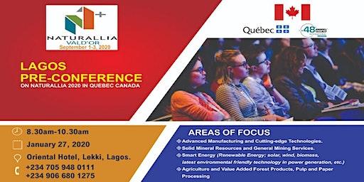 NATURALLIA 2020 PRE-CONFERENCE IN LAGOS