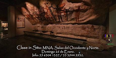Clase in Situ: Museo Nacional de Antropología. Salas de Occidente y Norte. entradas