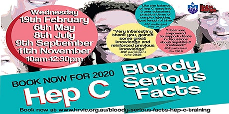 Bloody Serious Facts©- Hepatitis C Training tickets