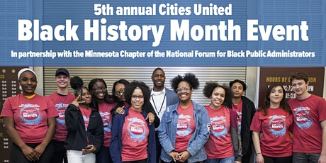 Cities United Presents the 5th Annual Black History Month Event 2020 tickets