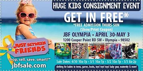 JBF Olympia General Admission (FREE) tickets