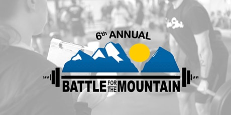Copy of Battle for the Mountain 6 @ Dawson CrossFit tickets