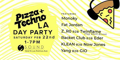 Pizza & Techno LA Debut at Sound 2.22.20