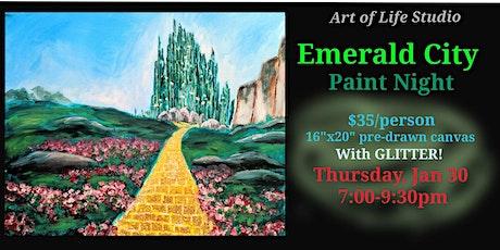 Paint Night: Emerald City tickets