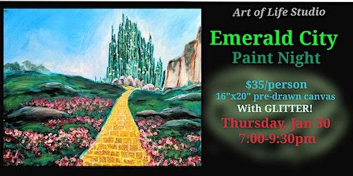 Paint Night: Emerald City