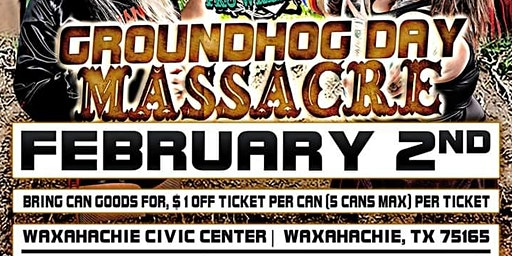 Waxahachie Faith Wrestling Groundhog Day massacre