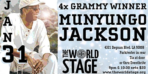 The World Stage presents *MUNYUNGO JACKSON*