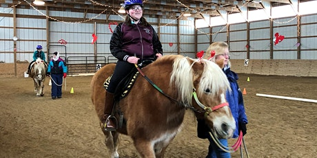 Test Ride a Pony - Hug-a-Horse for Valentine's Day tickets