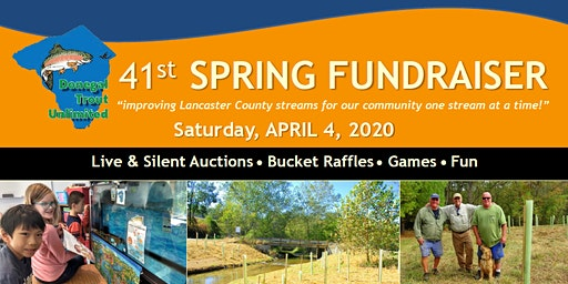 Donegal Trout Unlimited Spring Fundraiser