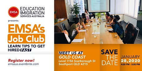 EMSA's Job Club - Gold Coast tickets