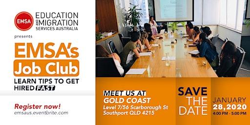 EMSA's Job Club - Gold Coast