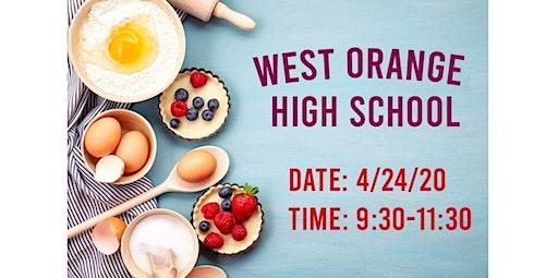 PRIVATE EVENT: West orange high school  (04-24-2020 starts at 9:30 AM)
