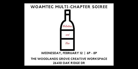 WOAMTEC Multi-Chapter Soiree - Valentines & Vino tickets