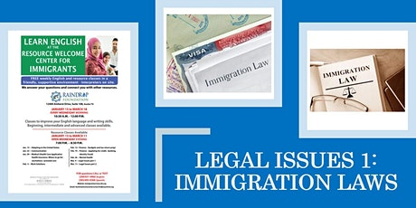 Legal Issues: Immigration Laws tickets