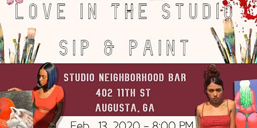 Love in the Studio: Valentine's Day Sip & Paint