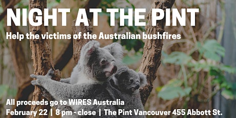 Night at The Pint for Australia tickets
