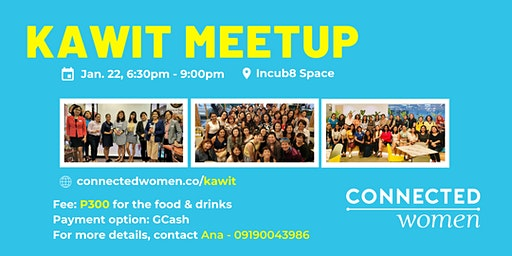 #ConnectedWomen Meetup - Kawit (PH) - January 22