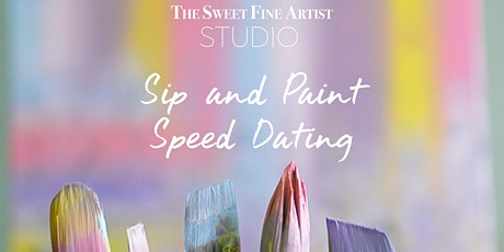 Sip and Paint Speed Dating tickets