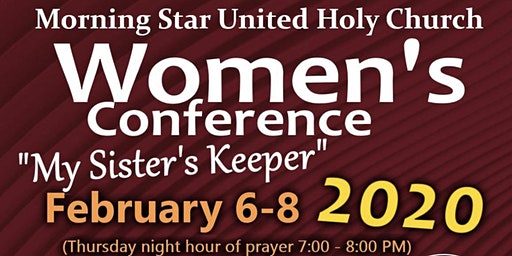My Sister's Keeper Women's Conference