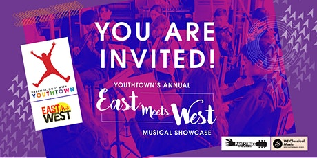 Youthtown Annual East Meets West musical showcase tickets