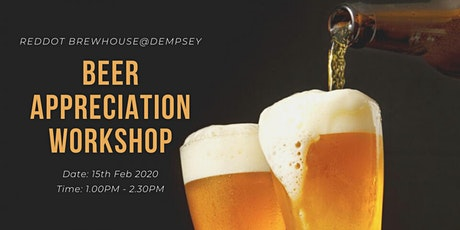 RedDot Beer Appreciation Workshop | RedDot BrewHouse tickets